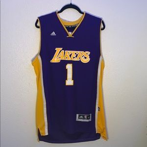 Adidas D' Angelo Russell Lakers Jersey